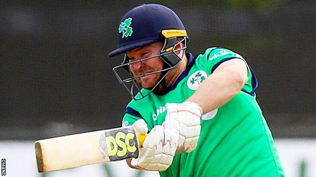 Paul Stirling hit seven sixes and six fours in his unbeaten 83