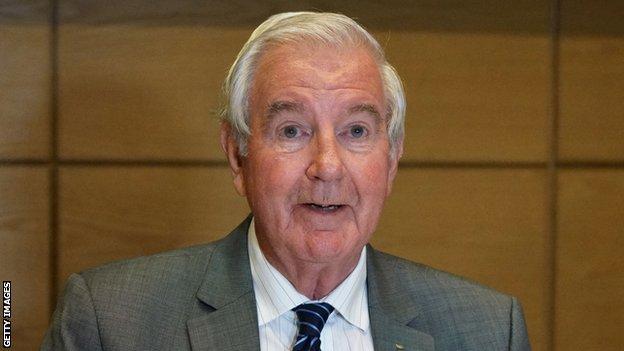 World Anti-Doping Agency president Sir Craig Reedie