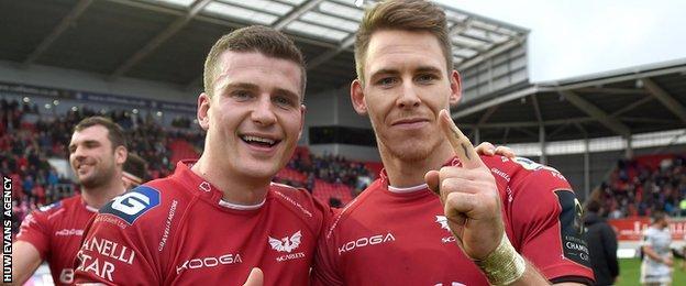 Scott Williams and Liam Williams