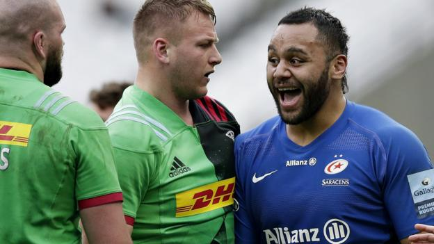Premiership: Saracens beat Harlequins 27-20 at London Stadium thumbnail