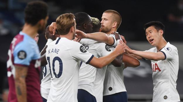Tottenham 2-0 West Ham: Harry Kane on target after Tomas Soucek own goal thumbnail