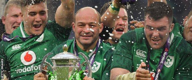 Best captained Ireland to Grand Slam success in the 2018 Six Nations