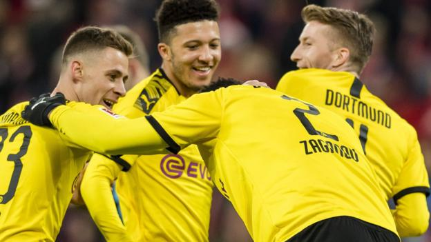 Mainz 0-4 Borussia Dortmund: Jadon Sancho scores for sixth game in row thumbnail