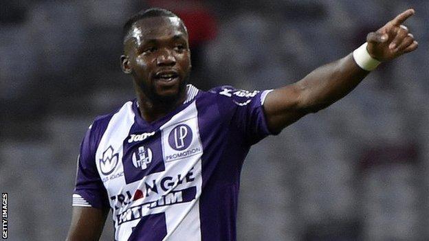 Mali international and Toulouse midfielder Tongo Doumbia