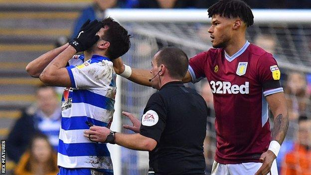 Nelson Oliveira and Tyrone Mings