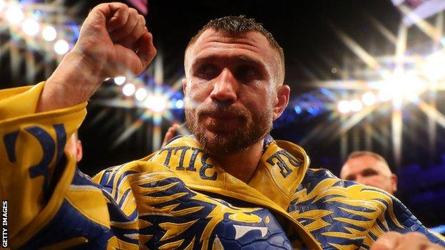 Lomachenko has held world titles in three weight divisions and beat British fighters Anthony Crolla and Luke Campbell in 2019