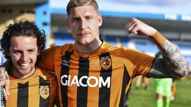 Hull City defender Jordy de Wijs