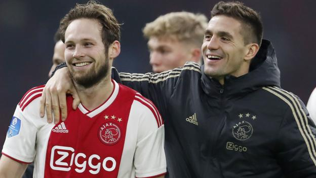 Image result for Dusan Tadic & Daley Blind: Premier League 'rejects' chase Ajax Champions League glory