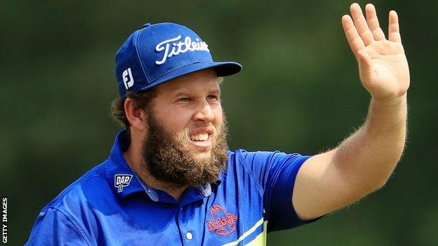 English player Andrew 'Beef' Johnston is renowned for his humour and unassuming demeanour