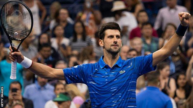 Us Open 2019 Novak Djokovic Through While Daniil Medvedev Is Booed In His Victory Bbc Sport