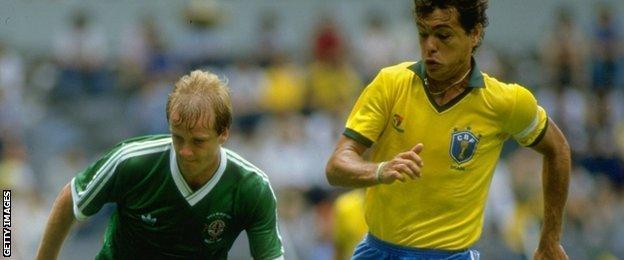 Colin Clarke plays Brazil