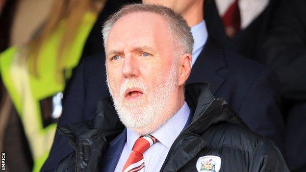 Barnsley owner Patrick Cryne