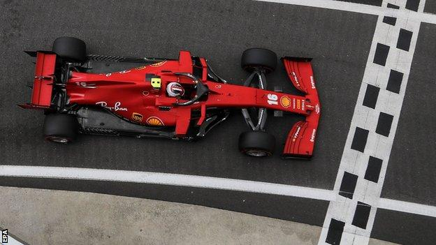 sports Charles Leclerc