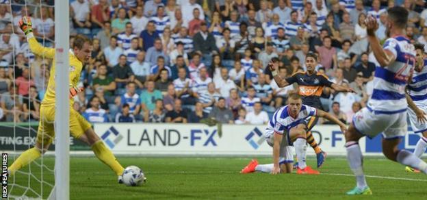 Ayoze Perez score Newcastle's second at Loftus Road