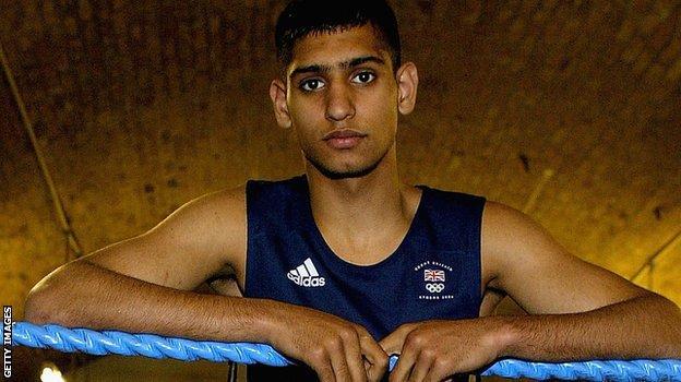 Amir Khan at 17
