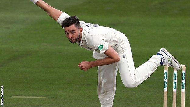 Gloucestershire left-armer Matt Taylor took the wickets of both Northants openers