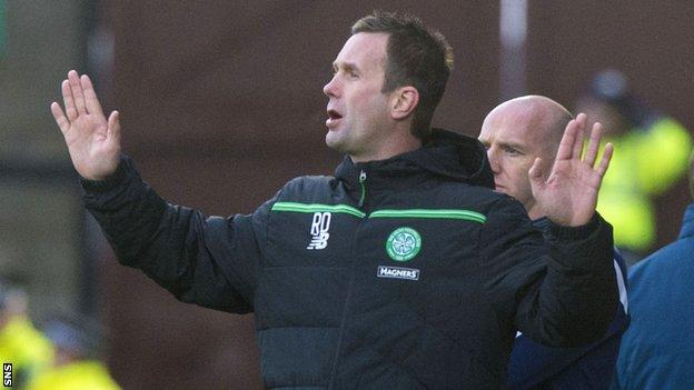 Deila paid tribute to his players' response to their European disappointment