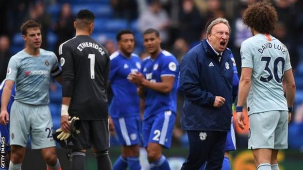 Chelsea came from behind to beat Cardiff City 2-1