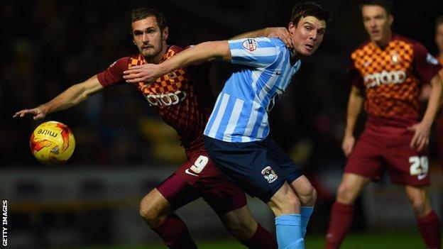 Bradford v Coventry City