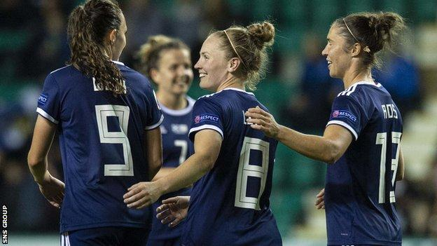 Scotland opened their campaign with an 8-0 win over Cyprus and won 5-0 in Albania