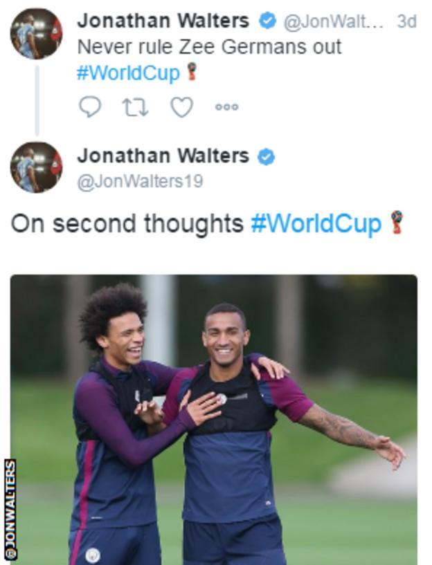 Jonathan Walters Twitter