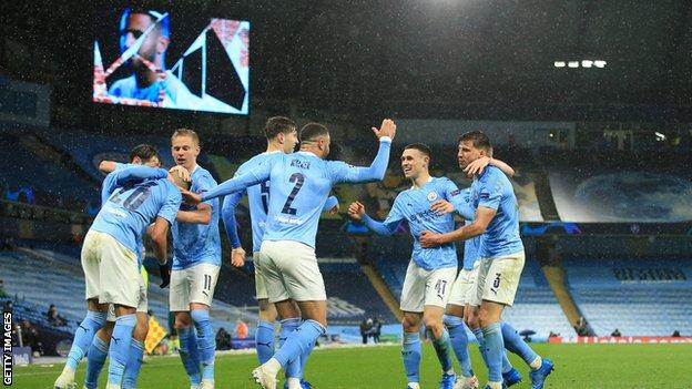 Manchester City beat PSG in Champions League semi-final