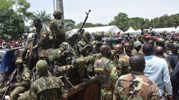 Guinea military forces