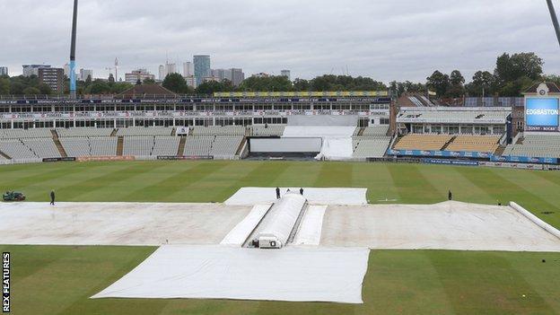 sports Edgbaston rain