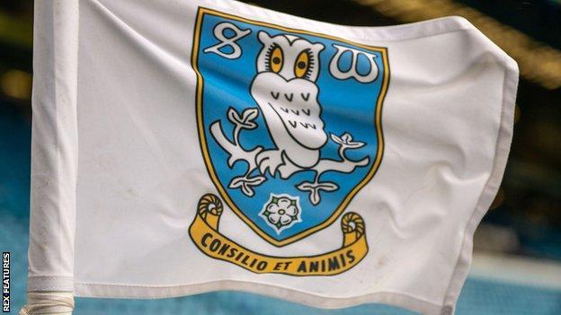 Sheffield Wednesday corner flag