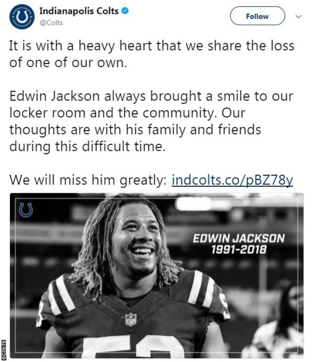 Indianapolis Colts tweet