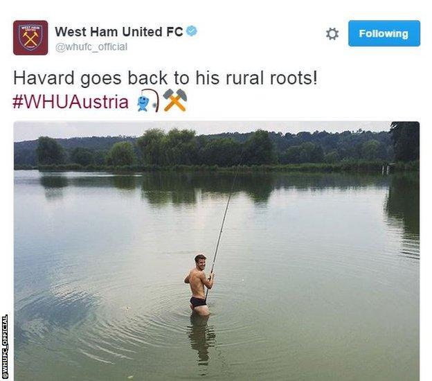 West Ham Twitter