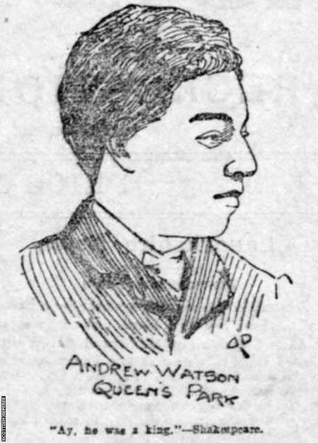 Dessin d'Andrew Watson
