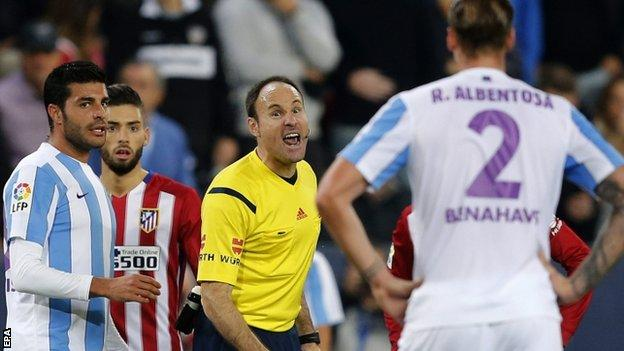 Malaga v Atletico Madrid