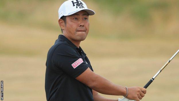 Hideto Tanihara at the Scottish Open