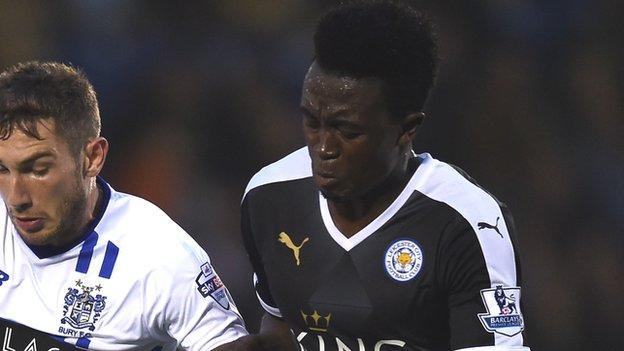 Joe Dodoo netted just 25 minutes into his Leicester City debut