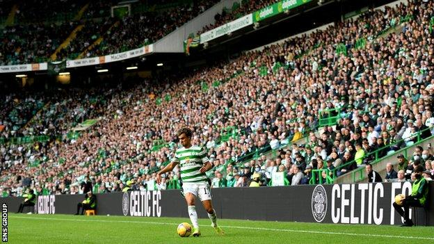 No fans for the 2020-21 campaign reduced Celtic's income