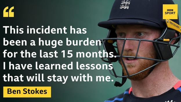 Ben Stokes quote graphic