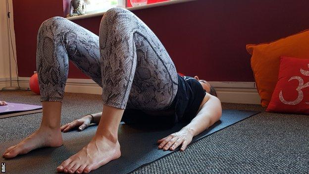 Pilates stance