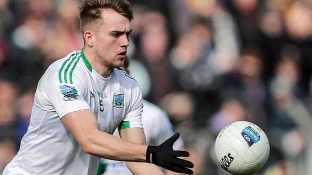 Ultan Kelm fired Fermanagh into an early lead against their Ulster neighbours
