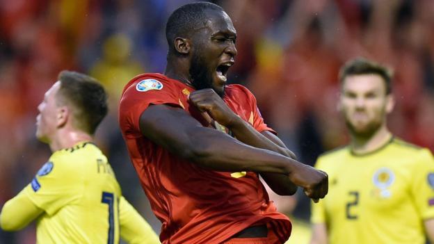 Belgium 3-0 Scotland: Romelu Lukaku & Kevin De Bryune inflict Steve Clarke's first defeat thumbnail