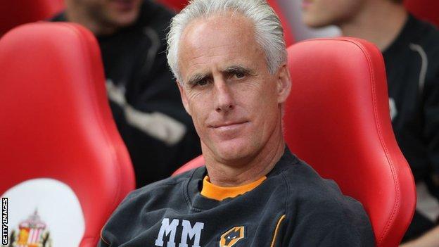Sunderland manager Mick McCarthy