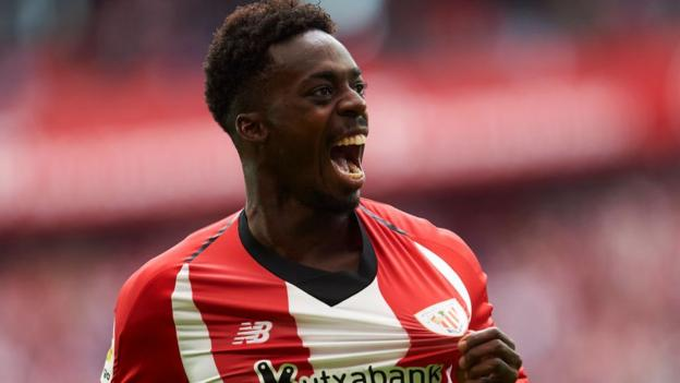 Inaki Williams: Athletic Bilbao striker signs nine-year contract thumbnail