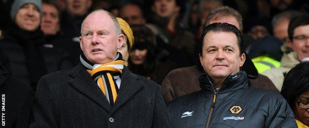 Steve Morgan (left) and Jez Moxey (right)