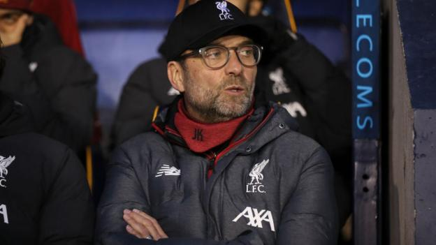 Jurgen Klopp: Liverpool's first team will miss FA Cup replay v Shrewsbury