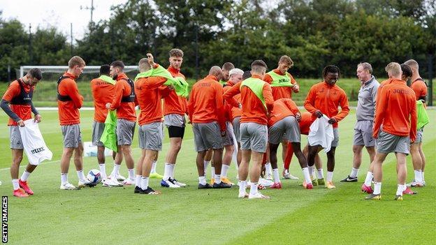 Swansea training
