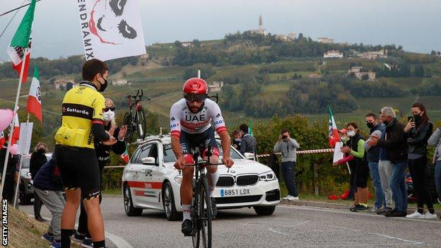 Team Emirates rider Gaviria tests positive for COVID-19 a second time