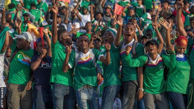 Comoros football fans