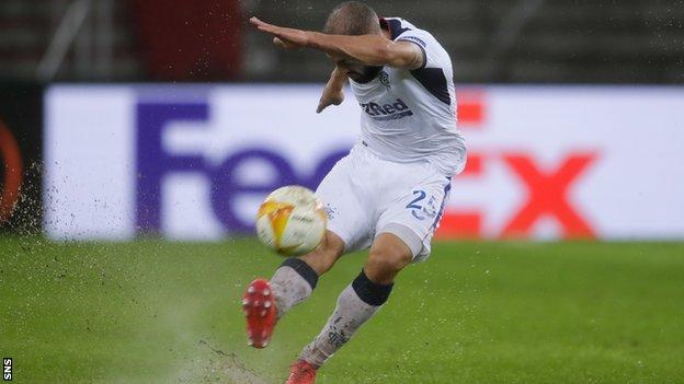Kemar Roofe's incredible strike capped Rangers' win at Standard Liege