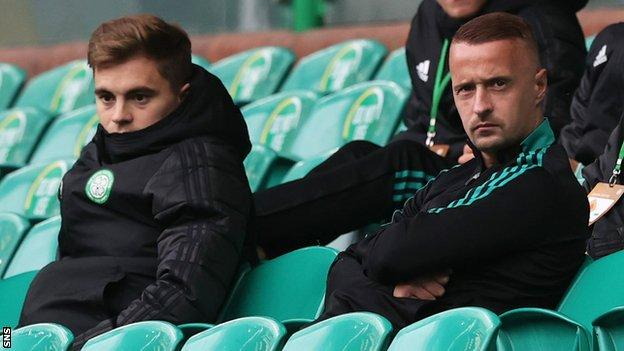 James Forrest and Leigh Griffiths