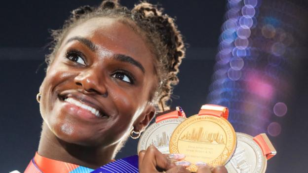 Dina Asher-Smith backs new athletes' union after Diamond League changes thumbnail